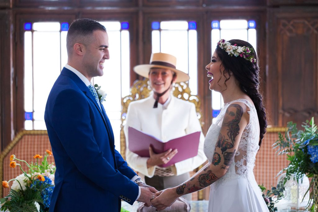 Fun Spanish wedding ceremony officiated by Celebrant Spain