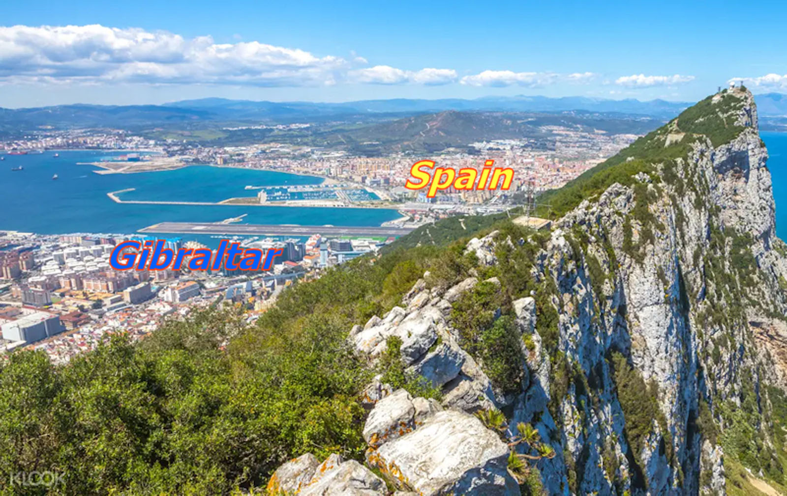 Spain is very close to Gibraltar for getting married