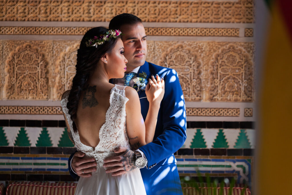 Civil marriage in Spain and symbolic wedding