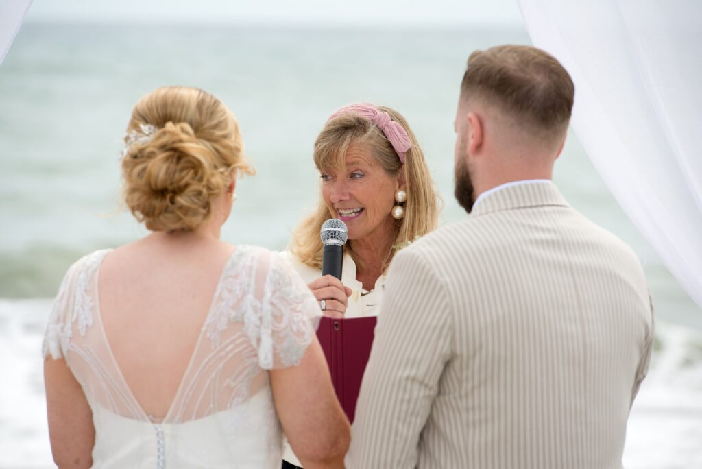 Celebrant Spain small beach wedding