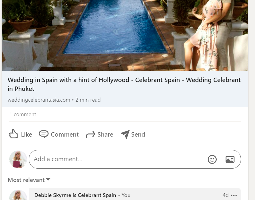 What to do when a website copies your celebrant blog