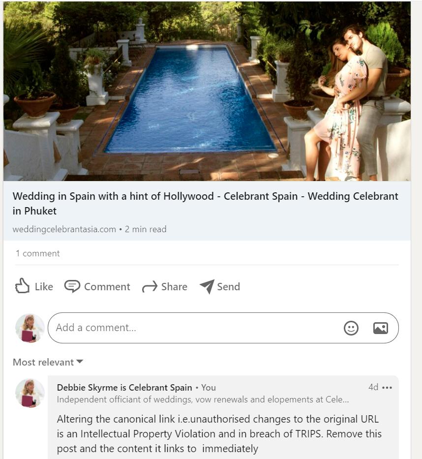 wedding celebrant blog