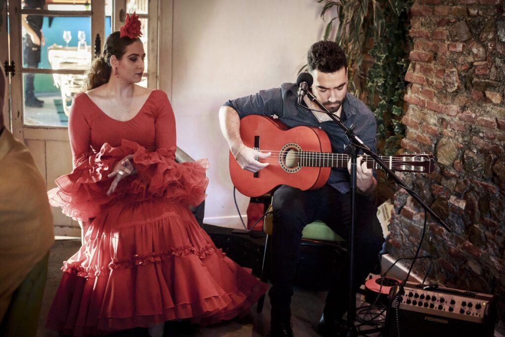wedding flamenco guitarist