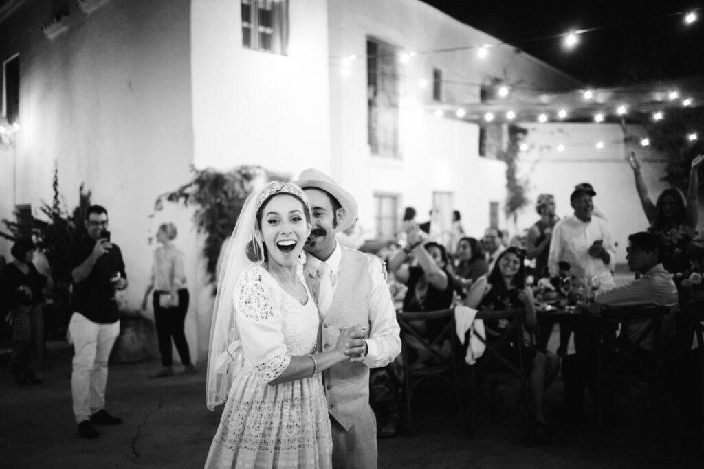 Spanish wedding party at La Casa Grande de Zujaira